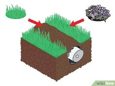 How to Build a French Drain. The French drain is a simple, yet versatile construction which can be used to drain standing water from problem areas in your yard or basement. The process is fairly simple; it just requires a little. French Drain Diy, French Drain System, Rock Drainage, Backyard Drainage, Drain Français, Yellow Paint Colors, Drainage Solutions, Drainage Ideas, Cement Planters