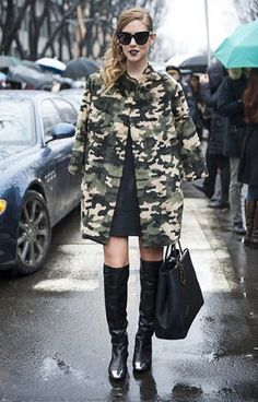 Aliexpress.com : Buy 2013 New fashion Camouflage Jacket For Women Trench Coat Army Green Military Printed Streetwear Style Female Outwear Coat from Reliable women trench coat suppliers on Rose Town