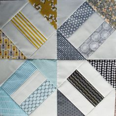 Cracker Scraps quilting blocks. Love this so much, I think it's my next project :)
