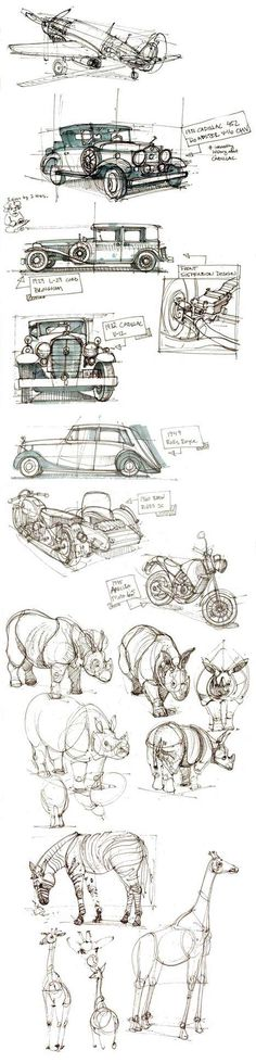 Illustration / Coffee Doodles for Inspiration - Sketch Painting, Drawing Sketches, Art Drawings, Sketching, Coffee Doodle, Sketch Design, Design Model, Design Cars, Art And Illustration