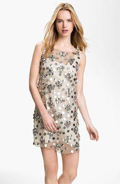 Milly Silk Shift Dress, $595.00