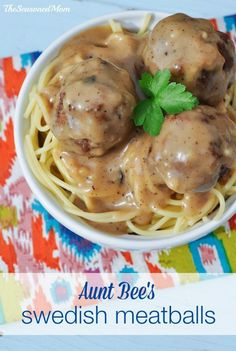 An authentic recipe from my Swedish great aunt! These Swedish Meatballs and Meatloaf are pure comfort food!