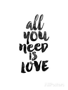 $13 12x16 All You Need is Love Prints by Brett Wilson at AllPosters.com