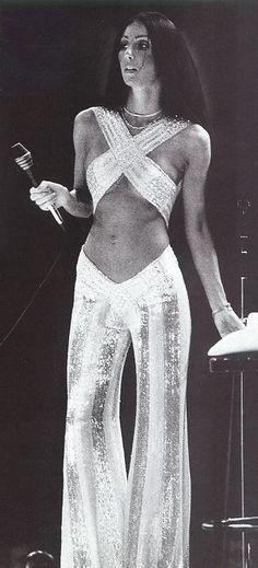 Cher, 1970's. ☚