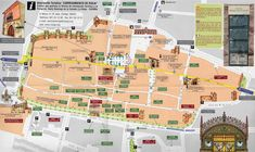 Walking map of Santo Domingo de la Calzada