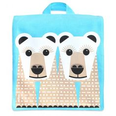 Sac à dos enfant maternelle en coton bio / Kids backpack for school with organic cotton www.coqenpate.com #rentreescolaire #backtoschool