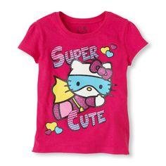 Hello Kitty super hero graphic tee
