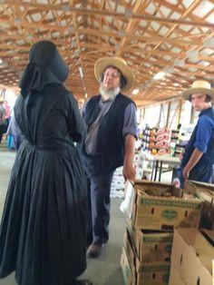 Amish at Market~ Sarah's Country Kitchen ~