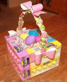 Cute easter basket idea!