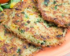 Quinoa-Lauch-Kuchen: www. Minced Chicken Recipes, Vegetarian Recipes, Healthy Recipes, Kebab Recipes, Fritters, Healthy Cooking, Food Porn, Good Food, Easy Meals