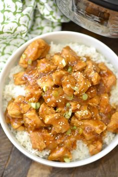 This spicy honey Instant Pot chicken takes just 4 minutes to cook and comes out moist and full of flavor! Sweet and spicy chicken bites smothered in delicious sauce which we love atop a bed of rice. A great healthy pressure cooker dinner our whole family enjoys.