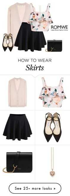 """outfit 4194"" by natalyag on Polyvore featuring Acne Studios, New Look, Mulberry, Jimmy Choo and Thomas Sabo"
