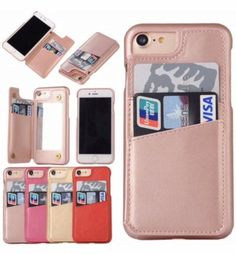 Cheap case for iphone, Buy Quality flip case directly from China case for iphone Suppliers: Retro Mirror Wallet Flip Case for iPhone Leather Card Slot Holder Back Cover for iPhone 6 Plus Plastic Phone Bag Coque Iphone 6, Iphone Wallet Case, Iphone Cases, Girly Phone Cases, Flip Phone Case, Phone Covers, Gifts For Techies, Techie Gifts, Technology Gifts