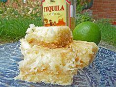 Sasaki Time: Tequila-Lime-Coconut Macaroon Bars Recipe!