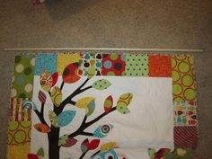 The Shipp Family 2015: DIY: Hanging a Quilt the Easy & Cost Effective Way