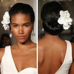 Hair CHALLENGES: Idées coiffure cheveux crépus pour future mariée