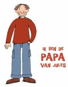 Jules zijn papa