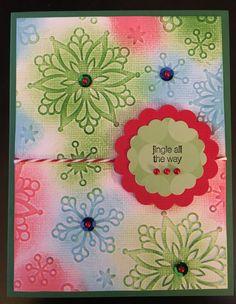 Christmas card for Mary (next door neighbor). 12/25/16