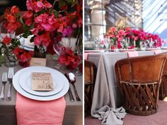 Fiesta Table Inspiration #pink #mexico #chairs @Camille Styles