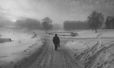 Pentti Sammallahti's best photograph: ice fog in stormy northern Russia - Solovki, White Sea, Russia, 1992 Stunning Photography, Street Photography, Landscape Photography, Art Photography, Robert Doisneau, Winter Landscape, Landscape Photos, Russia Winter, Black And White Landscape