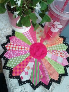 ! Sew we quilt: DAY 3 of April Showers MUG RUG with Fabri-Quilt and Ro Gregg as our Sponsor