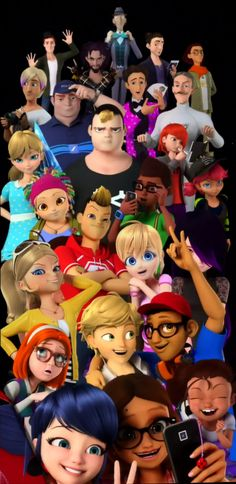 miraculous ladybug all the villains - Google Search