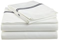 Pinzon Hotel Stitch 400-Thread-Count Egyptian Cotton Sateen California King Sheet Set, Navy by Pinzon by Amazon.com, http://www.amazon.com/dp/B005CGJXMS/ref=cm_sw_r_pi_dp_fkCArb0X9DNT1