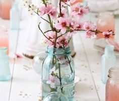 DIY Wedding Table Decoration Ideas - Floral Centerpiece - Click Pic for 46 Easy DIY Wedding Decorations