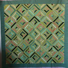 Faraway quilt by Taya@TypeB, via Flickr