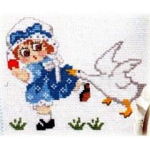 11 Country Cross Stitch Patterns by Jane Arlyn Crabtree