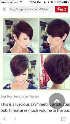 Favorite of the pixie cuts so far