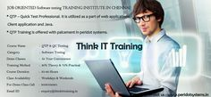 https://flic.kr/p/wFmnhb | Manual OTP & QC Training | Best QTP Testing Training in Chennai provided by QTP Testing Experts. We are the Best QTP Testing Training Institute Center in Chennai with placements.  www.thinkittraining.in/manual-and-qtp-qc