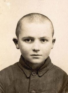Baranow, Poland, A portrait of a Jewish boy who perished in the Holocaust.