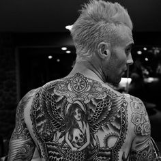Adam Levine Tattoos