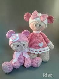 Image result for muñecos tejidos a crochet pinterest