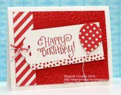 a card a day: Stampin' Up! Patterned Party Birthday