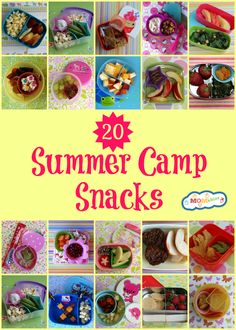 20 summer camp snacks MOMables.com