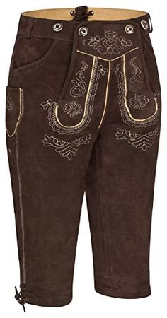 Lederhosen, Rock Revival, Costumes, Pants, Fashion, Oktoberfest Costume, Dark, Trouser Pants, Moda