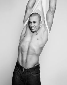 RUSH! or Georges St. Pierre photographed Roger Erickson in NYC