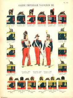 French imperial guard, 1850s