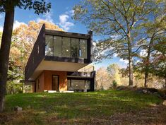 Waccabuc House. Designed and constructed by Architect Chan-li Lin of Rafael Vinoly Architects