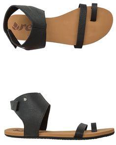 3f5398b14 Shop - Swell - Your Local Surf Shop · Ankle Strap FlatsAnkle Wrap SandalsBlack  ...