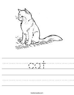 el conejo Worksheet from TwistyNoodle.com | Animal ...