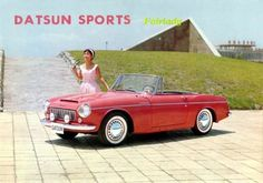 Datsun Fairlady Sports, Based on the sixties era Bluebird, the Fairlady was Nissan's first mass-produced sports car