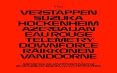 Typografia f1 2017