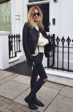 street chic - http://fashiongq.com/fashion/street-chic-9/