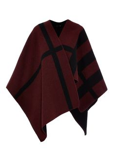 Burberry Prorsum Wool and cashmere-blend reversible cape check out my blog :) handlethisstyle.com