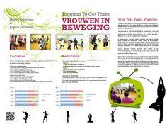 Jaar 2, Project Mijn CMV, opdracht: Together To Get There, Vrouwen in Beweging (poster presentatie)