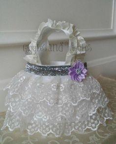 Wedding Gift Basket For Sister : ... gift, flower girl purse, birthday gift, big sister gift, princess