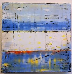 Amy Weil, Encaustic and mixed media on wood SOLD